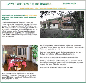 Grove Flock Farm Bed & Breakfast