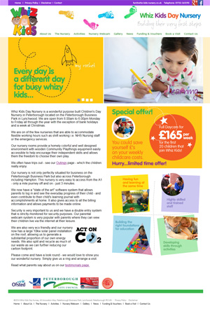 Nursery in Peterborough - Whiz Kids Day Nursery