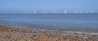 Wind Turbines just off the Great Yarmouth Coast
